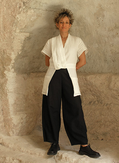 Large Black linen pants