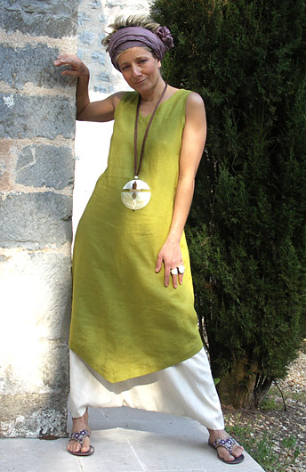 set in Linen: