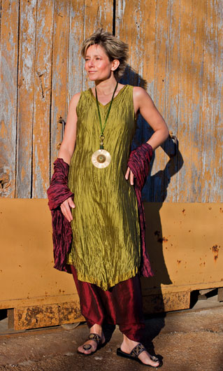 Set of taffetas: